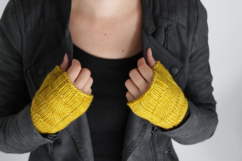 Fast Forward Fingerlose Handschuhe Strickideende