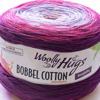 Woolly Hugs Bobbel Cotton 08 Orchidee (lila-pink)